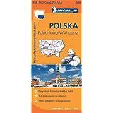 Mapa Polonia Sudeste 558 (Michelin Regional Maps)