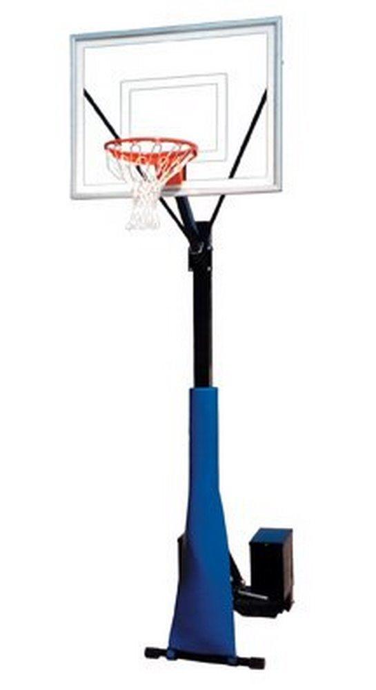 最初チームrollasport II steel-acrylicポータブルバスケットボールsystem44 ;ブラック B01HC0EAYW