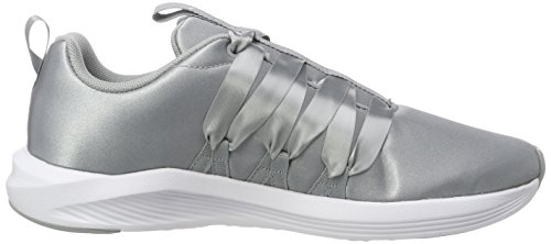 Puma Prowl quarry Gris Wn's Satin Chaussures Alt Fitness puma De Femme 05 White SprqdS