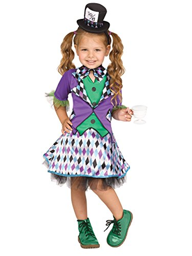 FUNWRD - Mad Hatter Girl's Costume
