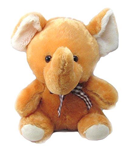 Tickles Brown Baby Elephant Stuffed Soft Plush Toy23 cm