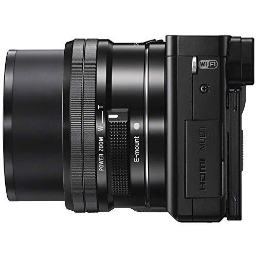 Sony ILCE-6000L/B Digital with Lens Bundle