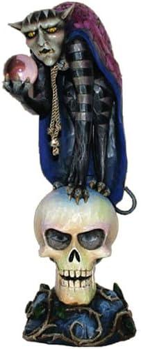Jim Shore Halloween Demon on Skull Demon Dark 4014442