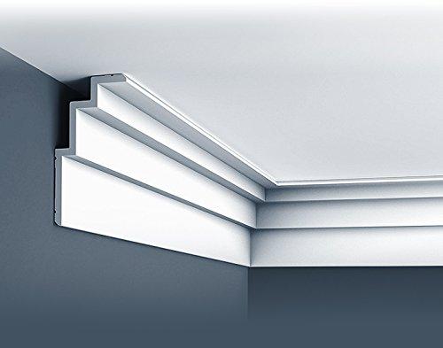 1 /ÉCHANTILLON S-C392 Orac Decor MODERN 10 cm /Échantillon Corniche pour plafond Moulure d/écorative Longueur env
