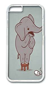 Apple Iphone 6 Case,WENJORS Awesome Irrational Fears Hard Case Protective Shell Cell Phone Cover For Apple Iphone 6 (4.7 Inch) - PC Transparent