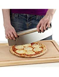 Gain 14 Inch Blade Rocker Style Professional Tool Stainless Steel Pizza Cutter opportunity