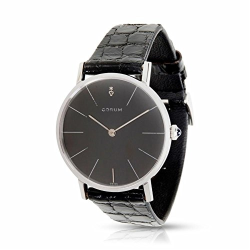 Corum Mecanique 57219 Manual Men's Watch in Stainless Steel (Certified Pre-Owned)
