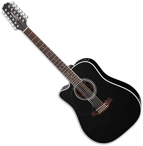 Takamine EF381SC 12 String Acoustic Electric Guitar Left Handed - Left Handed 12 String