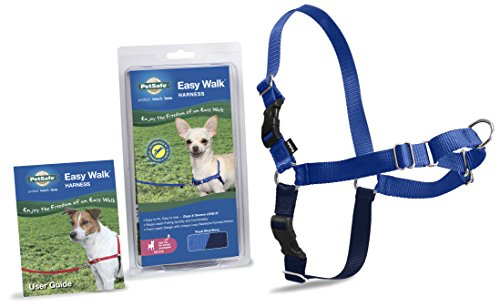 Image of PetSafe Easy Walk Harness,  Petite, ROYAL BLUE/NAVY BLUE for Dogs