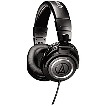 Audio-Technica ATH-M50 Professional Studio Monitor Headphones (OLD MODEL)