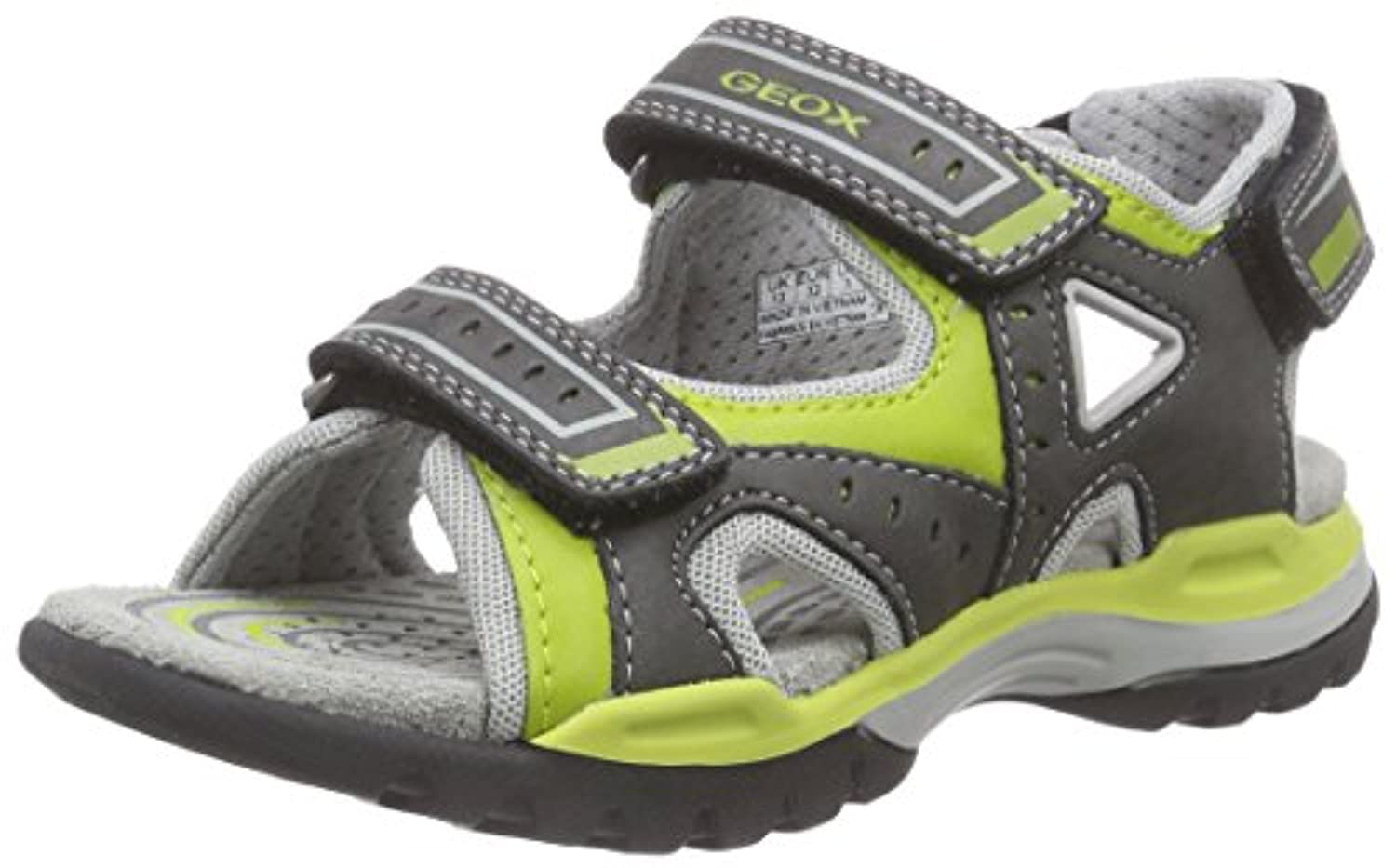 Geox Boys' J BOREALIS BOY A Open Toe Sandals Blue Size: 1 UK