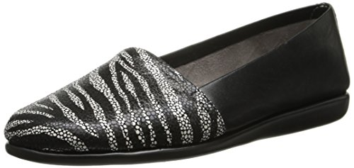 Women's Mr Aerosoles Zebra Softee Black HZFW5nf