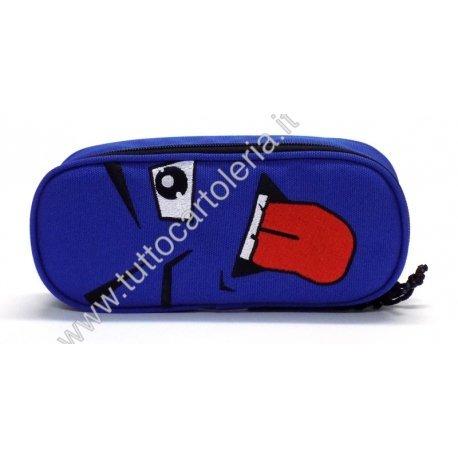 85de0b908e ASTUCCIO PORTAPENNE OVALE INVICTA FACE PLAIN OLIMPIAN BLUE COD. 683 ...