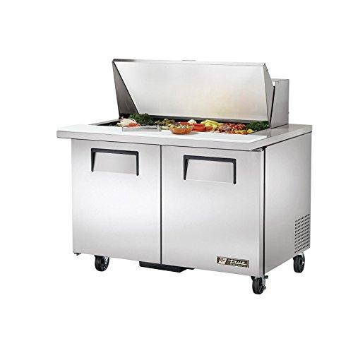 2 Door Refrigerated Sandwich Table - True TSSU-48-18M-B 48