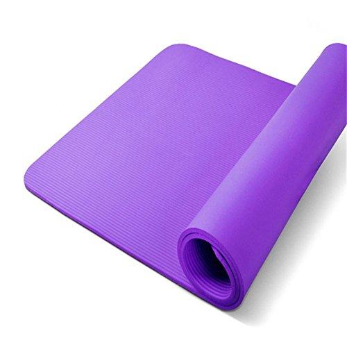 élargir le plus épais multifonction souple Tapis de yoga Tapis de sport pour tapis de 80Large tapis de fitness