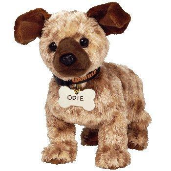 Amazon Com Ty Beanie Baby Odie The Dog Garfield Movie Beanie