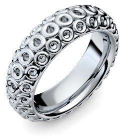 Weißgold ring ohne stein  Weißgold Ring 585 + inkl. Luxusetui + Ring Weißgold Ring ohne ...