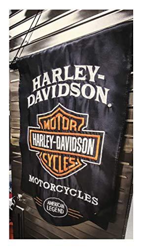 Harley-Davidson American Legend Sculpted Applique Garden Flag, 12.5 x 18 164900