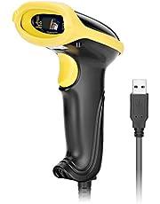 GHB Lector Codigo Barras Escáner de Codigos USB 2.0