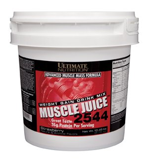 Ultimate Nutrition Muscle Juice 2544 Classic Gainer Protein (Strawberry, 13.2 Pounds)