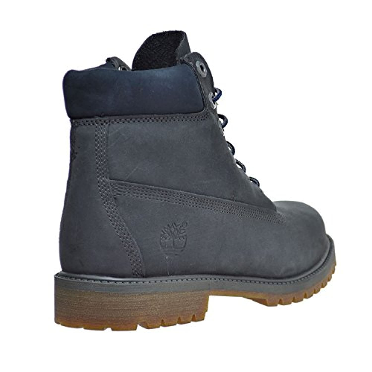 Timberland 6 Inch Classic Boot Youth Dark Grey Nubuck 3 UK