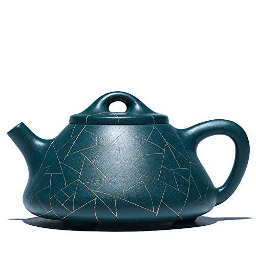 azure blue teapot set - 3