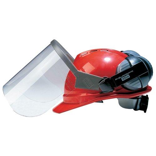 MSA 10026398 Helmet Cap-Mounted Ear Muff, Non-Slotted Caps Gray, 26 - Earmuffs Mounted Helmet