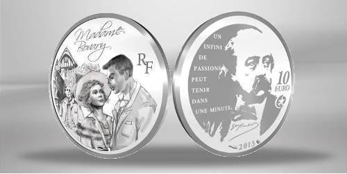 FRANCE / Frankreich 10 Fine Silver Euro Coin