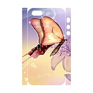 HXYHTY Cell phone Protection Cover 3D Case Butterfly For Iphone 5,5S