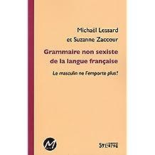 Grammaire non sexiste de la langue française