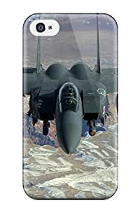 New Diy Design Jet Fighter For Iphone 4/4s Cases Comfortable For Lovers And Friends For Christmas Gifts