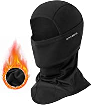 ROCKBROS Men's Balaclava Windproof Ski Mask for Cold Weather Balaclava Mask Winter Thermal Fleece Hood for