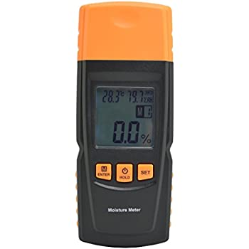 vitovill wood moisture meter portable digital damp meter wood rh amazon com humidity testers for cheese making humidity tester home depot