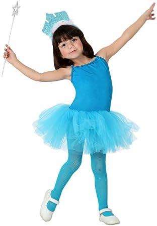 Atosa-17005 Disfraz Bailarina Ballet, Color Azul, 3 a 4 años ...
