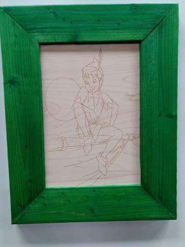 Peter Pan Engraving ()