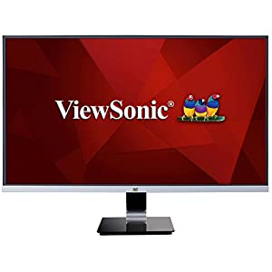 "ViewSonic VX2778-SMHD 27"" IPS 1440p Frameless LED Monitor HDMI, DisplayPort"