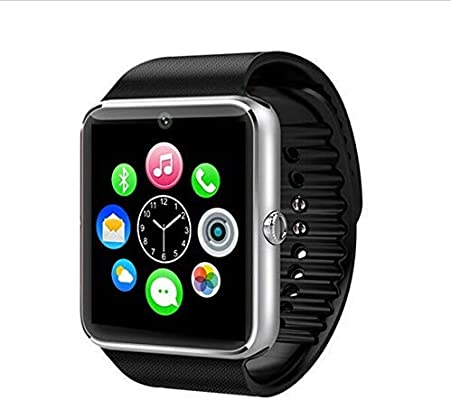 Bluetooth Smart Watch with Camera, Touch Screen Smartwatch with Sim Card Slot Fitness Tracker for Android/Samsung/iOS Apple Smart Phones (Original ...