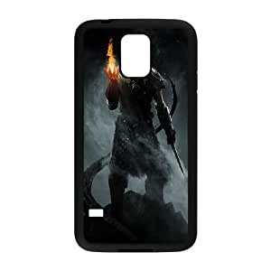 The Elder Scrolls V Samsung Galaxy S5 Cell Phone Case Black phone component RT_327280