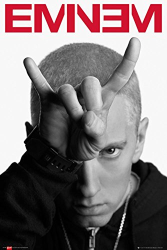Eminem - Horns Poster 24 x 36in