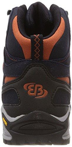 High de Bleu Randonnée EU Chaussures Shasta Hautes Orange 44 Mixte Brütting Marine Orange Adulte Mount Marron Marine wExq7Inf