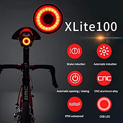 Tool Sports Running Accessories Bike Cycling Light Bicycle Seat Lights Bag lamp