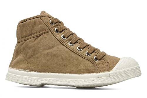 Bensimon Lacet Tennis Mid Top, Beige, 25 M EU / 8 US, Little