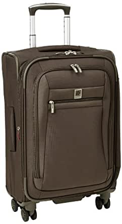 Delsey Luggage Helium Hyperlite Carry-On Expandable Spinner Trolley, Mocha, One Size