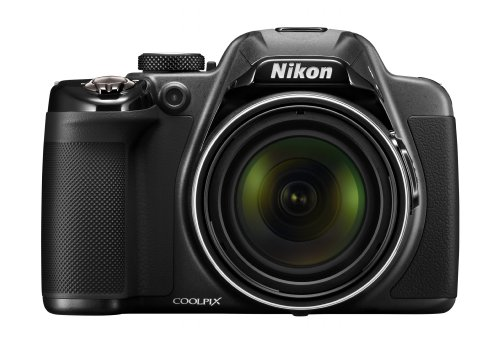 Nikon COOLPIX P530 16.1 MP CMOS Digital Camera with 42x Zoom NIKKOR Lens and Full HD 1080p Video (Black)