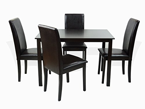 Dining Kitchen 5 Pc SET Rectangular Table and 4 Fallabella C