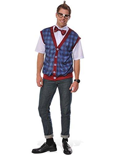Rubie's Costume Co. Men's Nerd Male Costume, As Shown, (Nerd Box Costume)