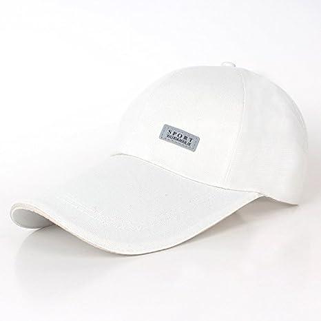 Berretto da baseball cappello visiera esterna piegare lungo il berretto con  visiera berretto b358f5361c8b