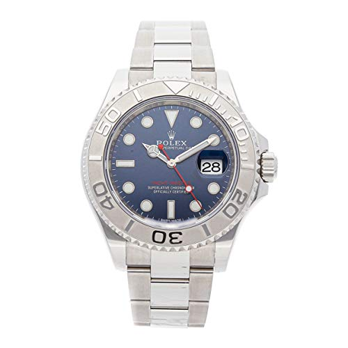 Rolex Yacht-Master Mechanical (Automatic) Blue Dial Mens Watch 116622 (Certified Pre-Owned)