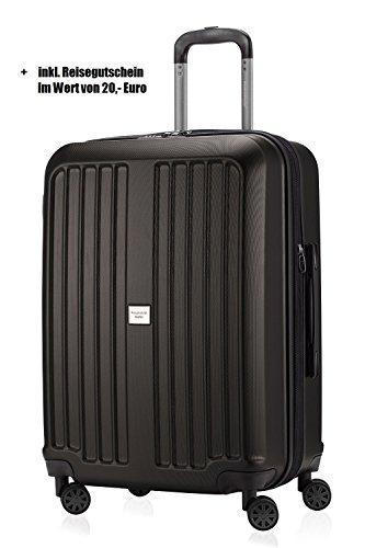 Hauptstadtkoffer Xberg 65cm 90l Koffer graphit matt + 20,- Reisegutschein - Reisekoffer, Trolley