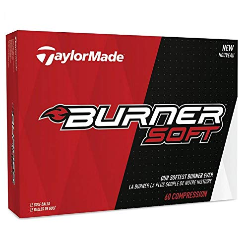TaylorMade Burner Golf Ball Soft Taylormade Burner Soft Golf Ball 2 Pieces